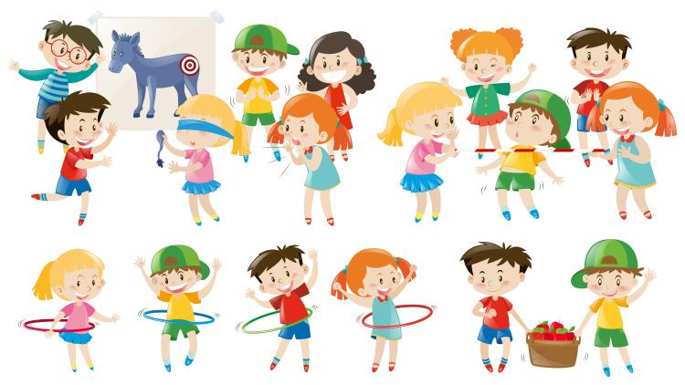 Games for preparing children for school