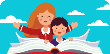Speed reading course for children